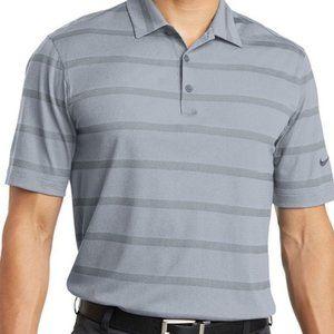NIKE Golf Dri-Fit Polo Shirt with Swoosh Logo EUC